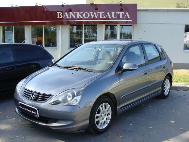 Przeglądasz: Honda Civic CDTi 2004 r. grafitowa 3