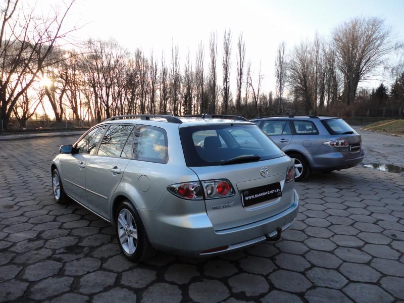 Przeglądasz: Mazda 6 1.8 GAZ 2005 r. srebrna