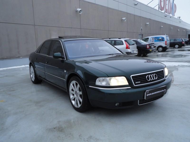 Przeglądasz: Audi A8 4.2 V8 310KM quattro 2000 r.