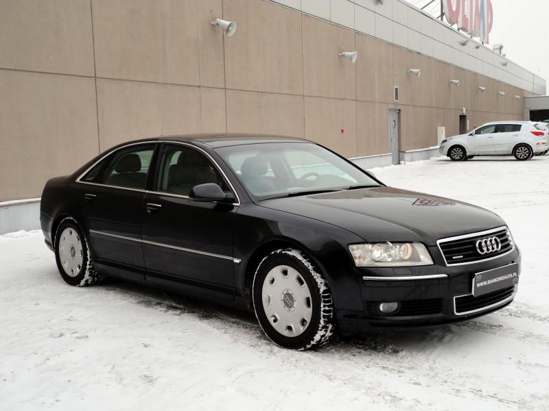 Przeglądasz: Audi A8 4.2 V8 quattro 2004 r. alcantara