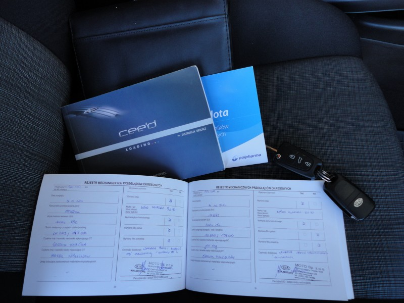 Przeglądasz: Kia Ceed Optimum 2010 r. VAT 23% 5
