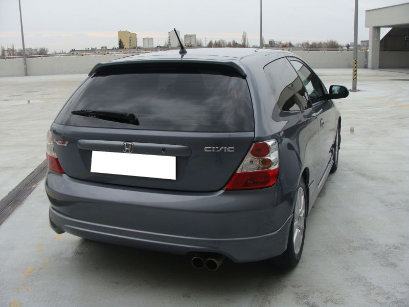 Przeglądasz: Honda Civic SPORT 2004 r. grafitowa