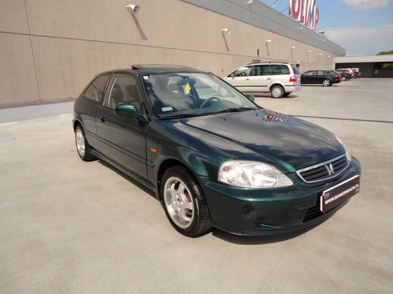 Przeglądasz: Honda Civic 1.5 Vtec 1999 r. zielona