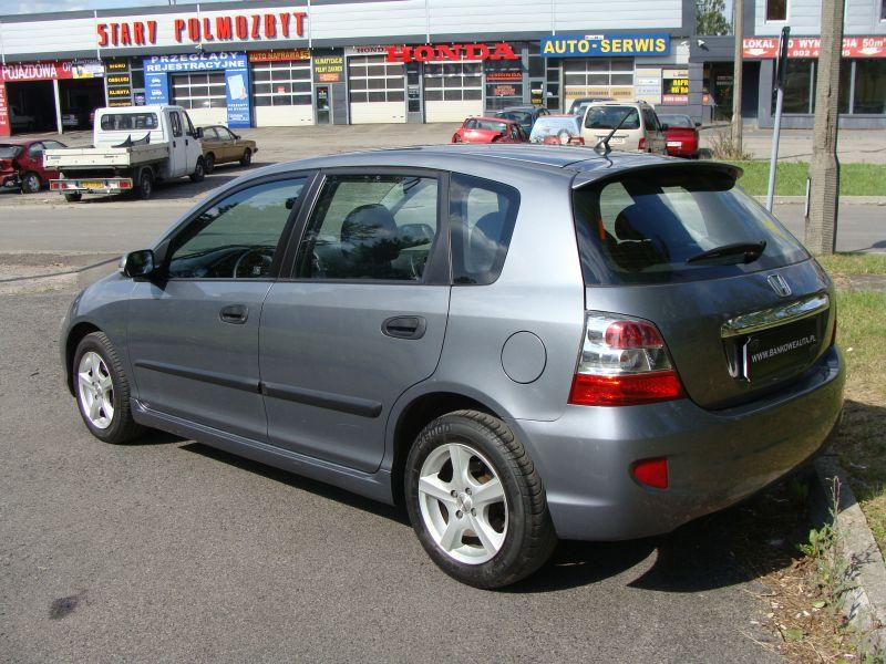 Przeglądasz: Honda Civic CTDi 5d 2004 r. grafitowa 2