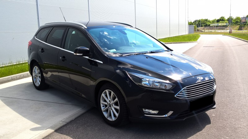 Przeglądasz: Ford Focus Titanium 2015 r. VAT 23%