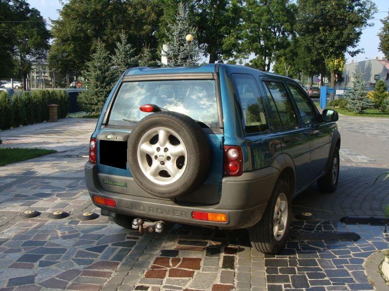 Przeglądasz: Land Rover Freelander diesel 2000 r.