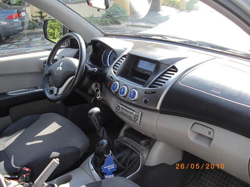 Przeglądasz: Mitsubishi L200 2.5 DID 2007 r.