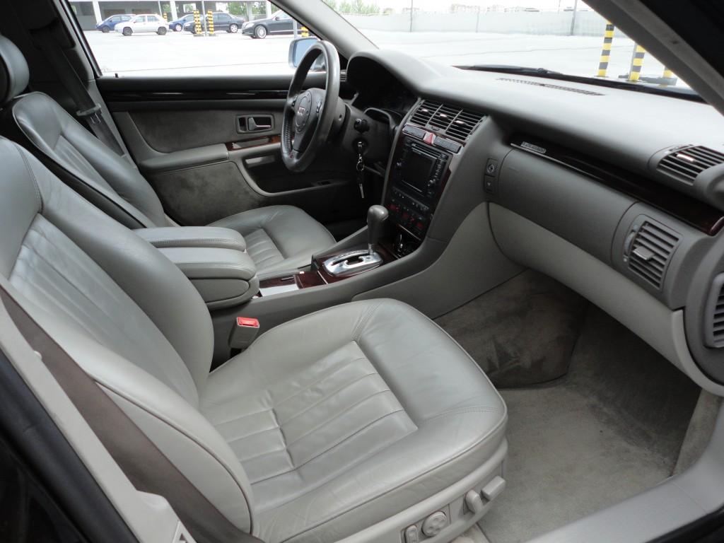 Przeglądasz: Audi A8 4.2 V8 310KM quattro 2000 r. czarna