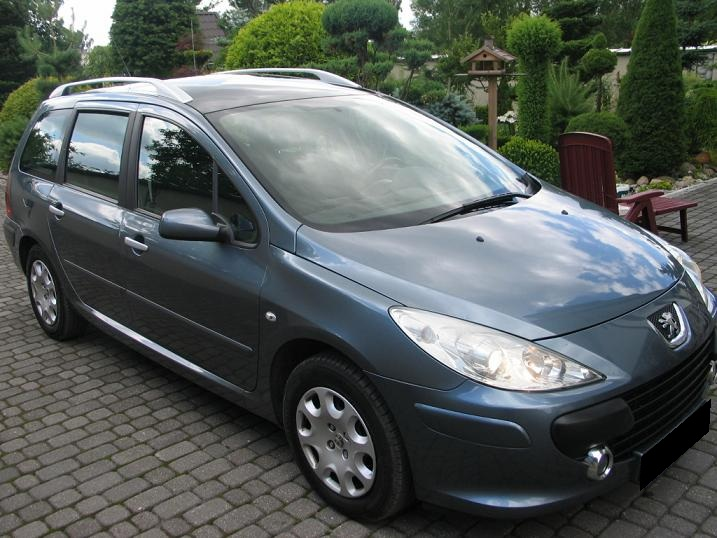 Przeglądasz: Peugeot 307 SW 1.6 HDI 2006 r.