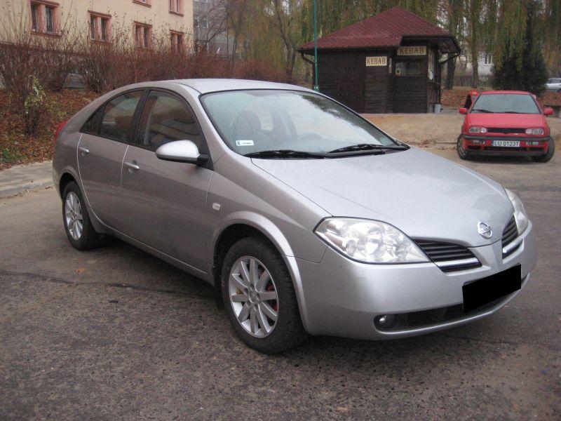 Przeglądasz: Nissan Primera 1.8 2003 r.