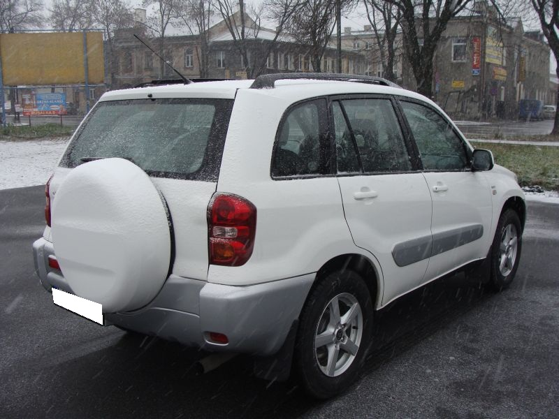 Przeglądasz: Toyota Rav 4 2004 r.