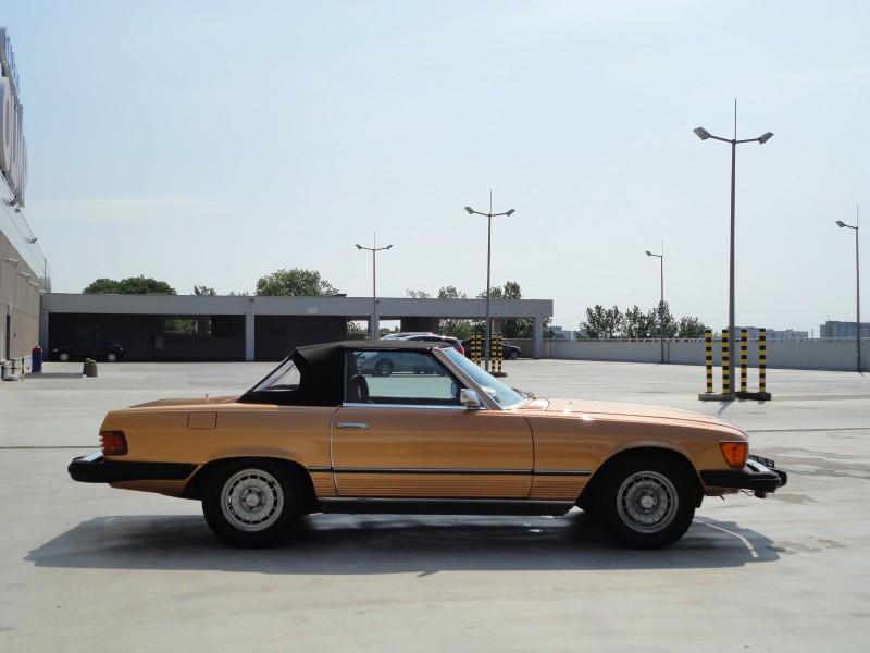 Przeglądasz: Mercedes SL 450 W107 1974 r.