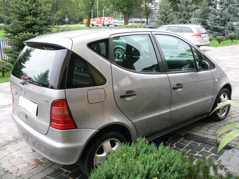 Przeglądasz: Mercedes A klasa 1.7 CDI 1999 r.