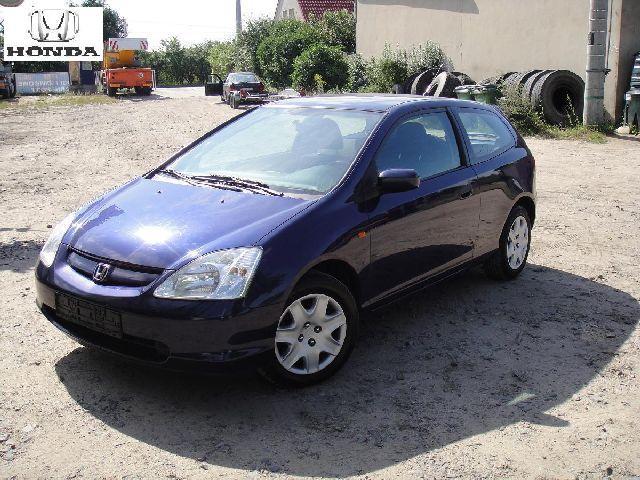 Przeglądasz: Honda Civic 1,7 CTDi 2002 r.