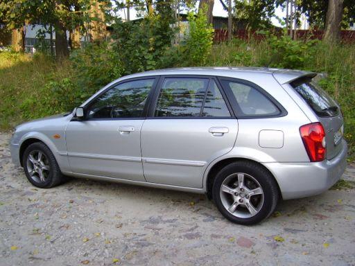 Przeglądasz: Mazda 323F DOHC 2003 r.