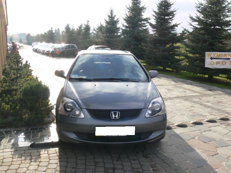Przeglądasz: Honda Civic  2005 r. grafitowa