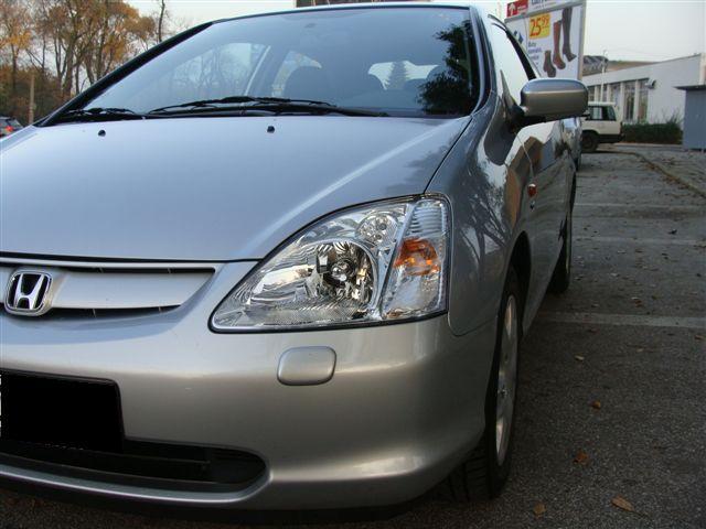 Przeglądasz: Honda Civic Vtec 2003 r. srebrna