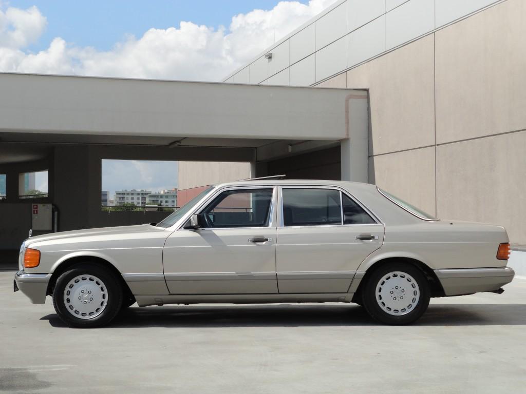 Przeglądasz: Mercedes SE 420 W126 1987 r.