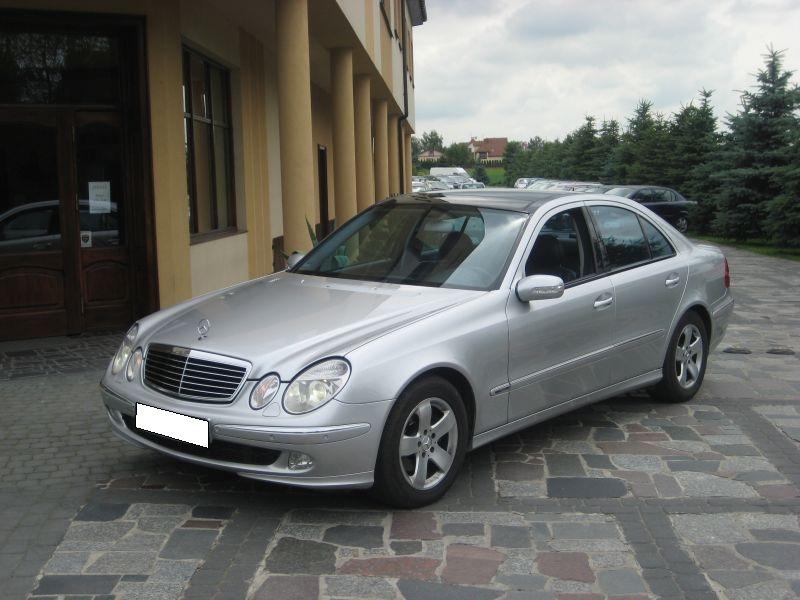 Przeglądasz: Mercedes E 270 Diesel 2003 r.