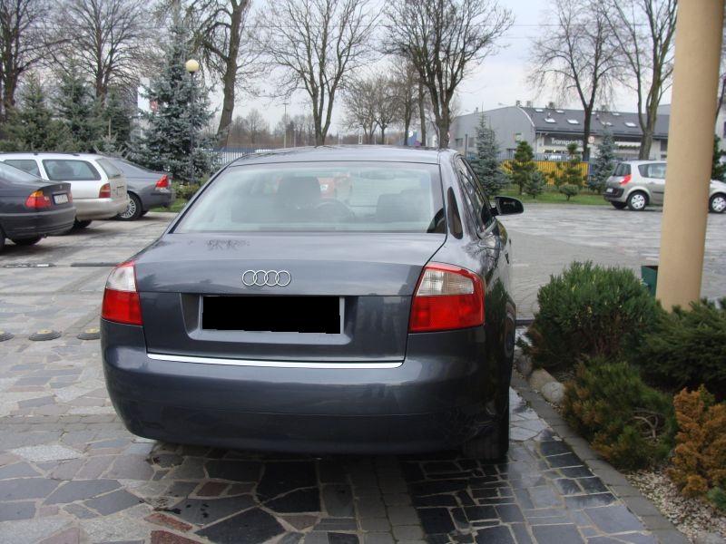 Przeglądasz: Audi A4 1.9 TDI 2002 r.
