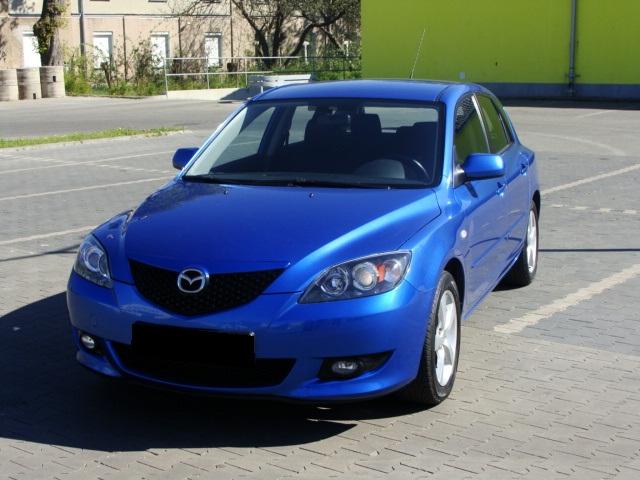 Przeglądasz: Mazda 3  1.6  2004 r.