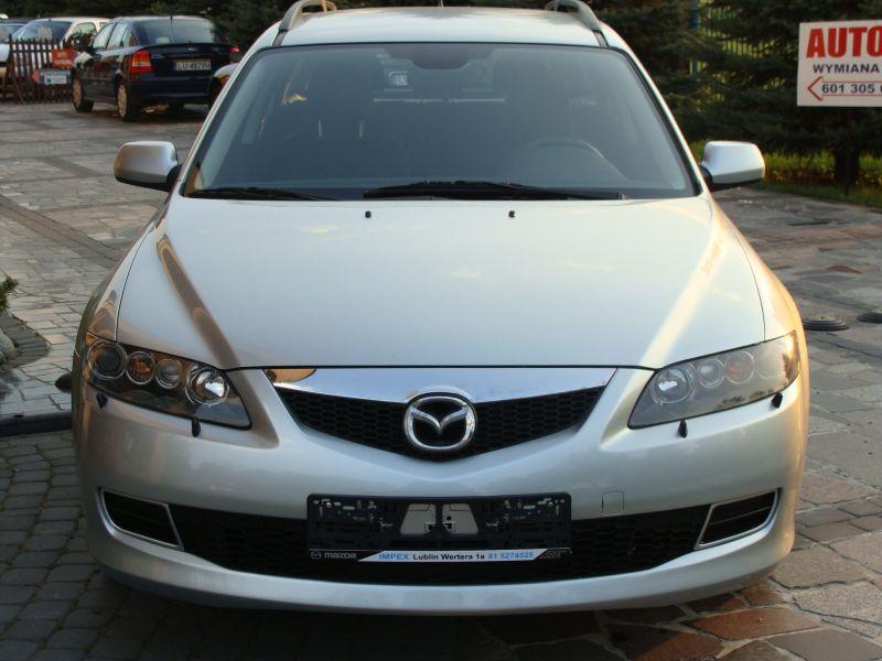 Przeglądasz: Mazda 6 diesel 2007 r. srebrna